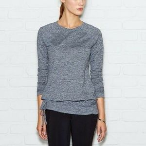"LUCY ""Jog for Joy"" Gray Long Sleeve Active Top XL"